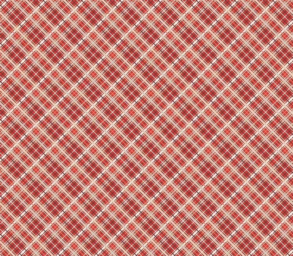 Off Shore 2 Red Plaid Fabric for Riley Blake Designs