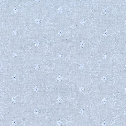 Rebecca Embroideries Light Blue Fabric