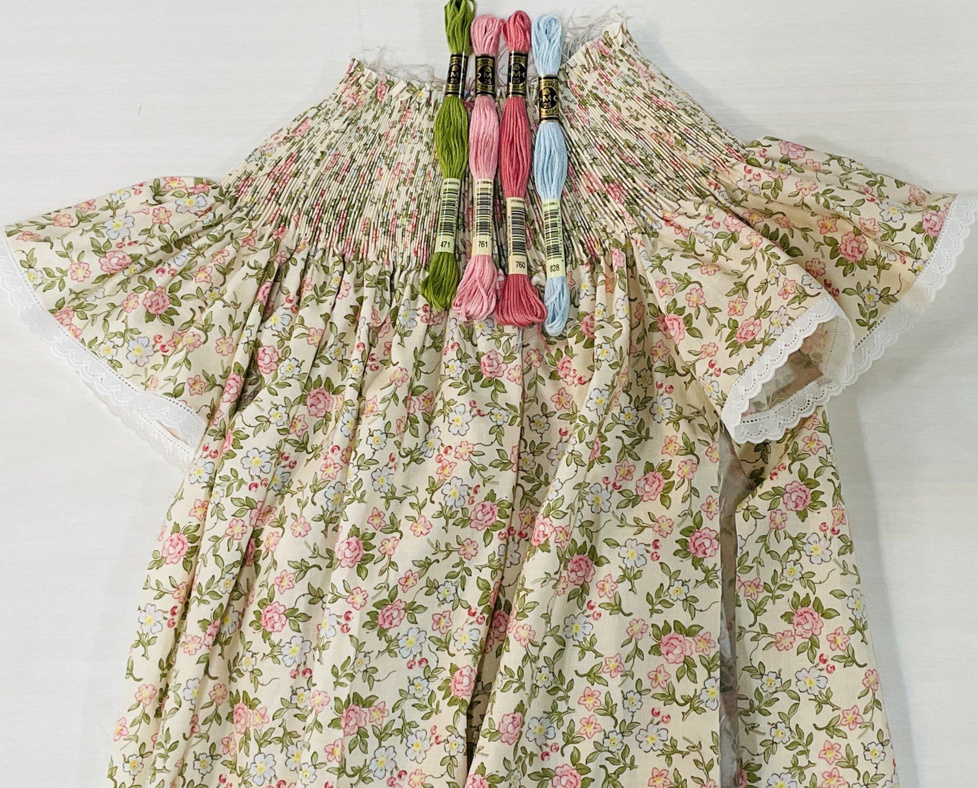 Bishop Kit -  Rose & Violets Garden Sweet Blossoms Cream Fabric by Riley Blake
