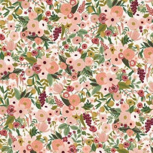 Garden Party - Petite Garden Party - Rose Fabric by Cotton + Steel