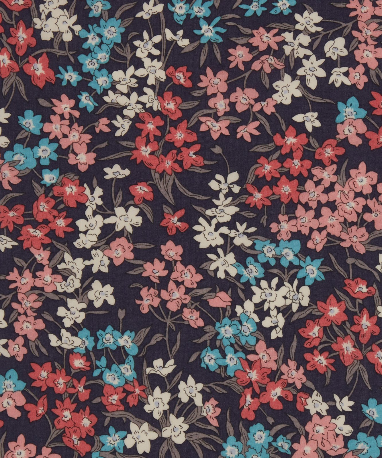 Sea Blossoms B Liberty of London Tana Lawn Fabric