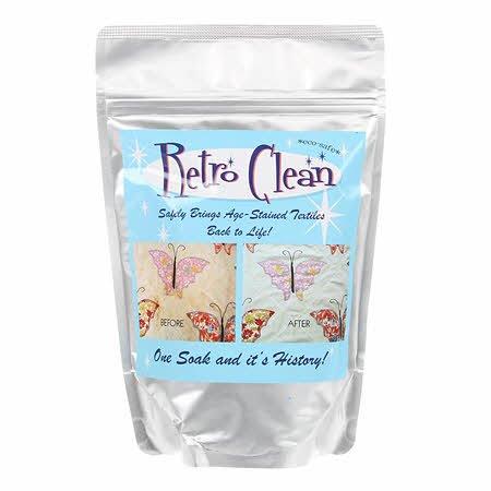 Retro Clean Soak 4oz Trial Size Bag Unscented