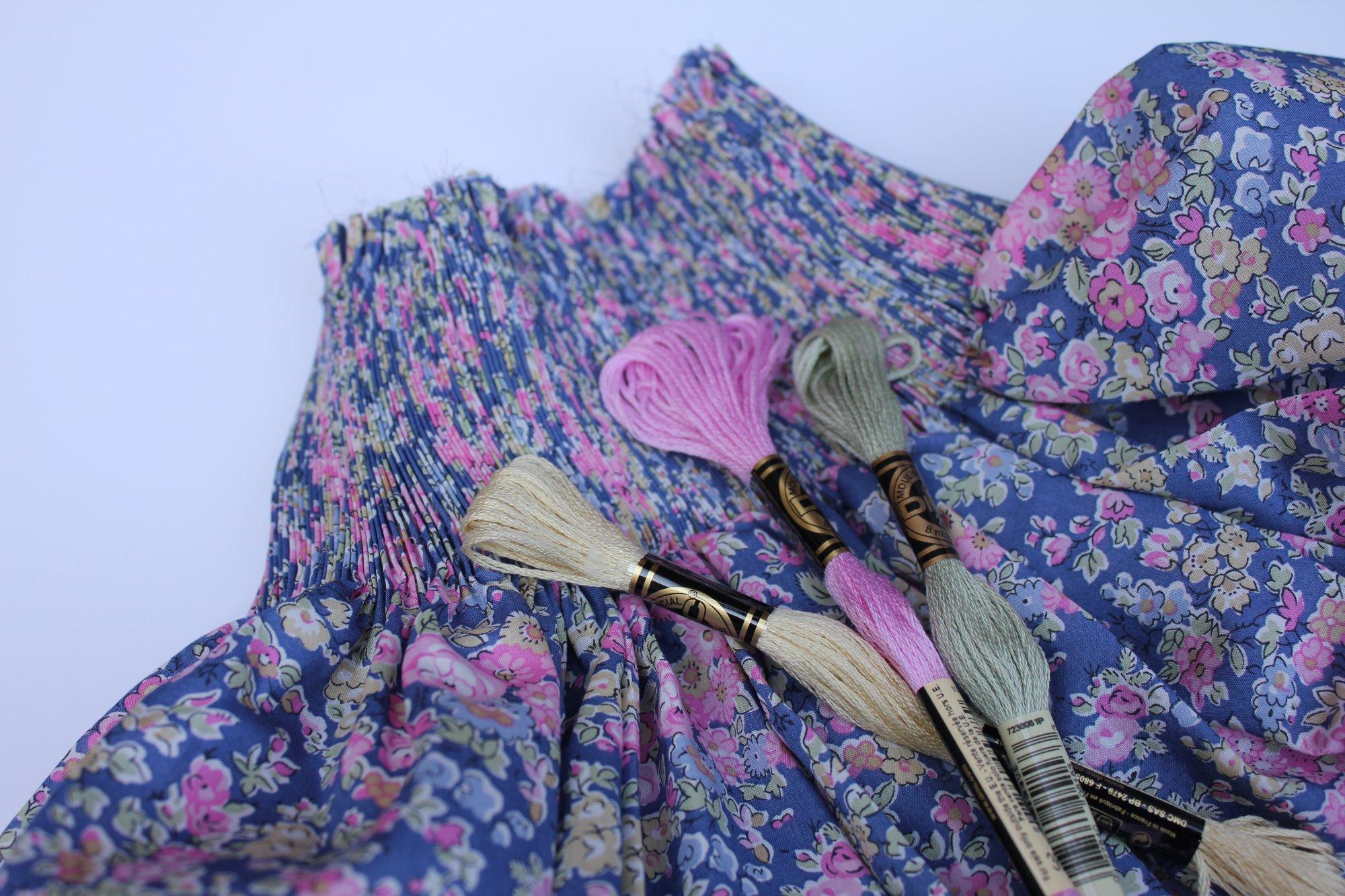 Bishop Kit in Tatum K Liberty of London Tana Lawn Fabric