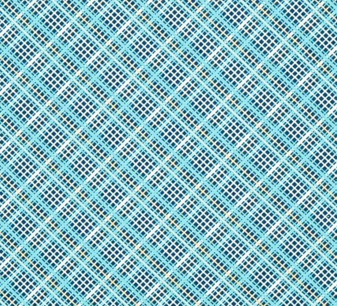 Off Shore 2 Teal Plaid Fabric for Riley Blake Designs