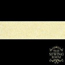 1/4 Vanilla Pure Silk Satin Ribbon
