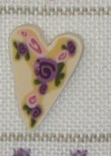 Valentine Heart Button