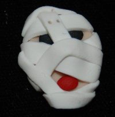 October Mummy Button