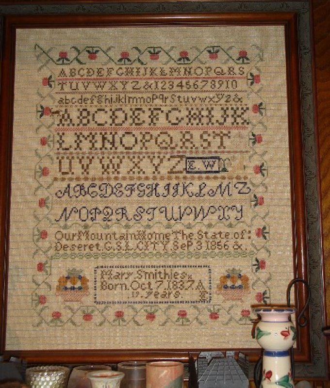 Mary Smithies Sampler