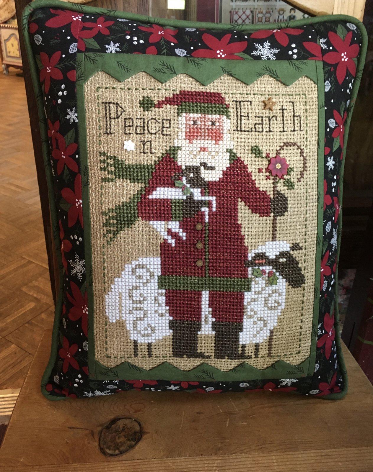 2019 Prairie Schooler Santa Card