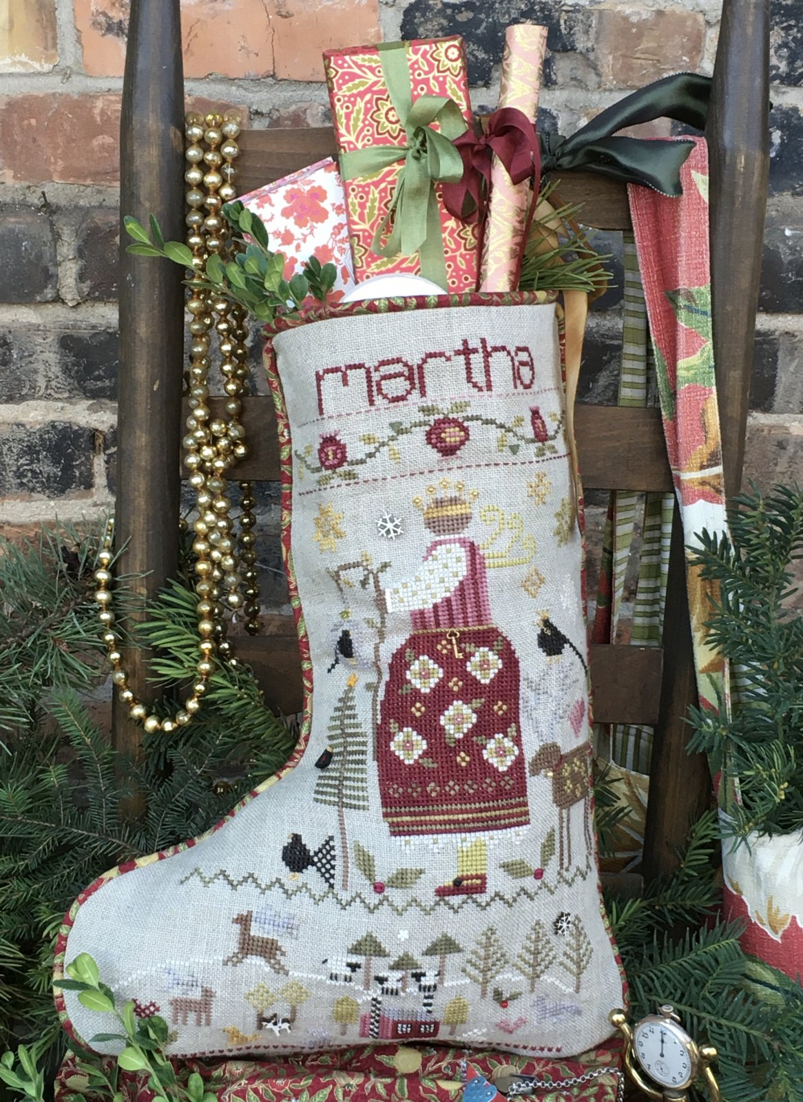 Martha's Stocking