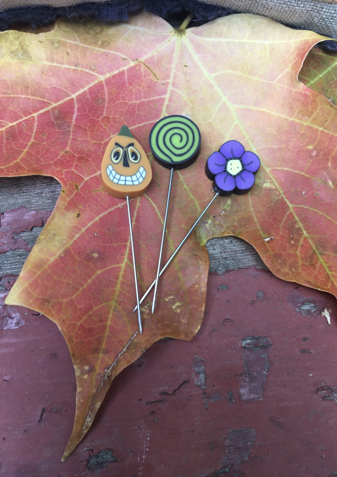 Witching Season mini pin set