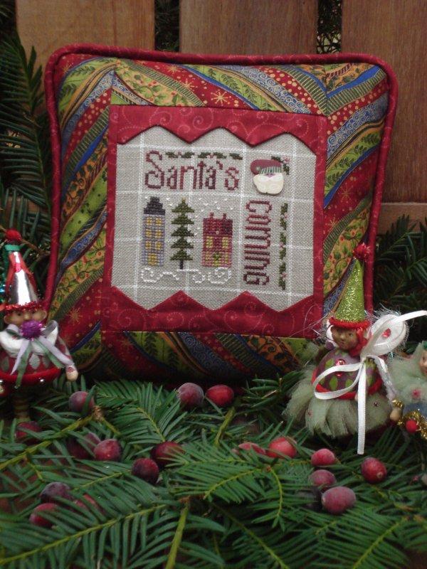 Santa' Coming