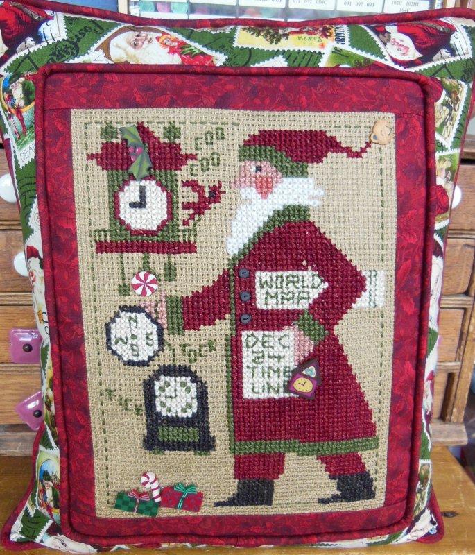 Prairie Schooler Santa 2013
