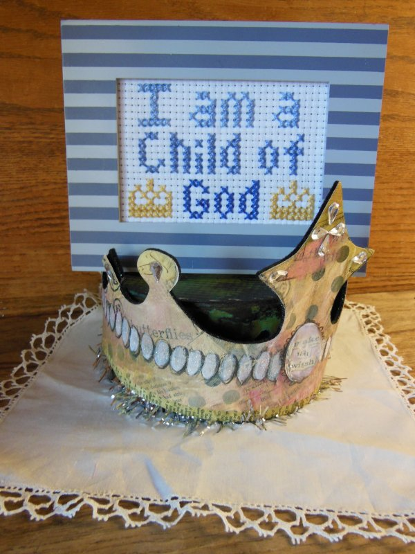 I am a child of God/ blue