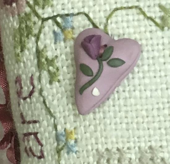Sweet Heart Button