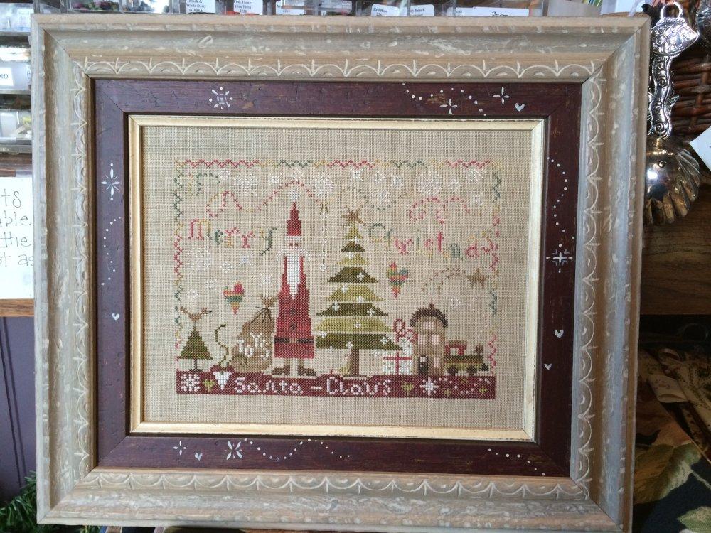 Santa by Pink Needle