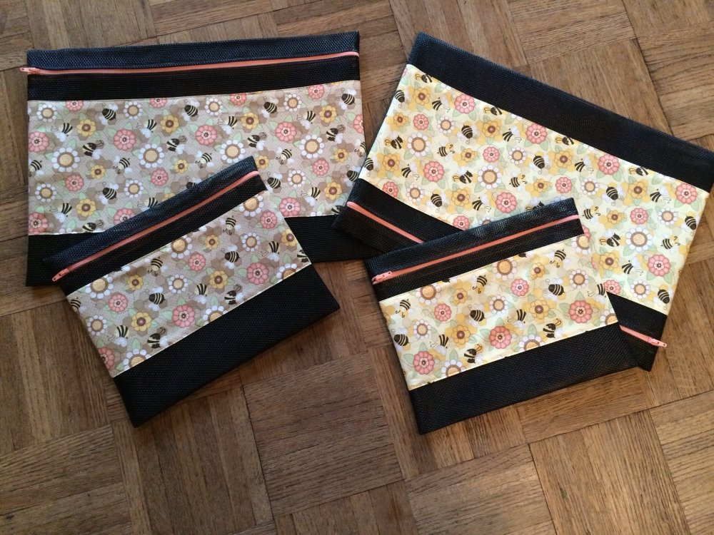 New Bee  Stitching Bags