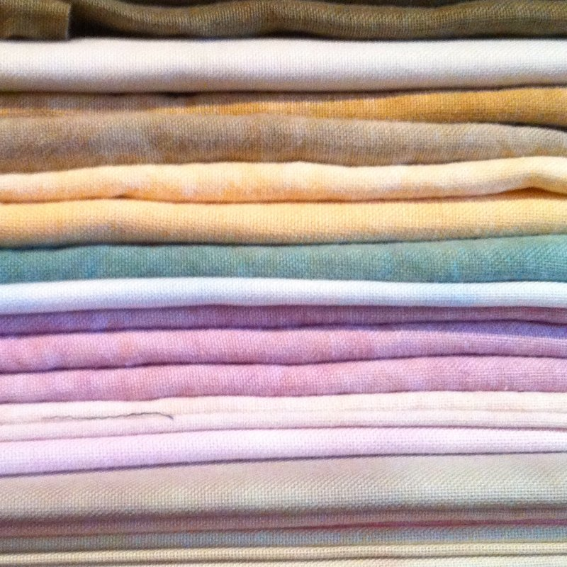 28 count Linen hand-dyed