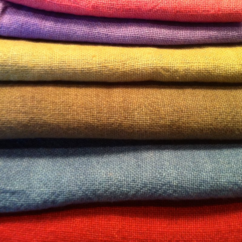 Dyed 20 count Linen