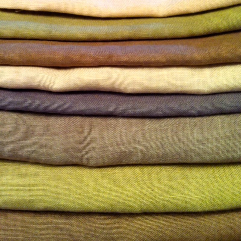 40 count linen hand-dyed
