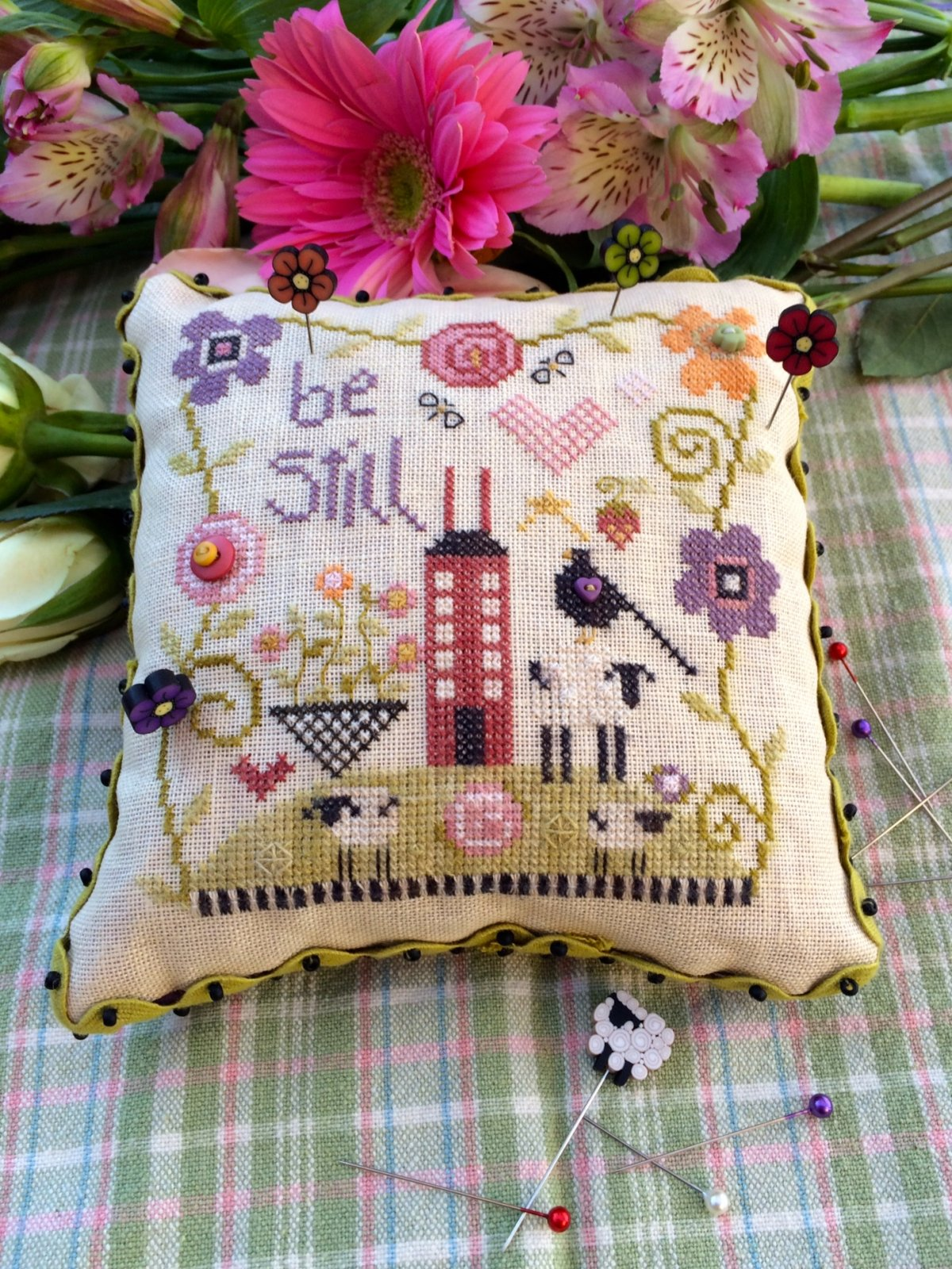 Be Still Pincushion