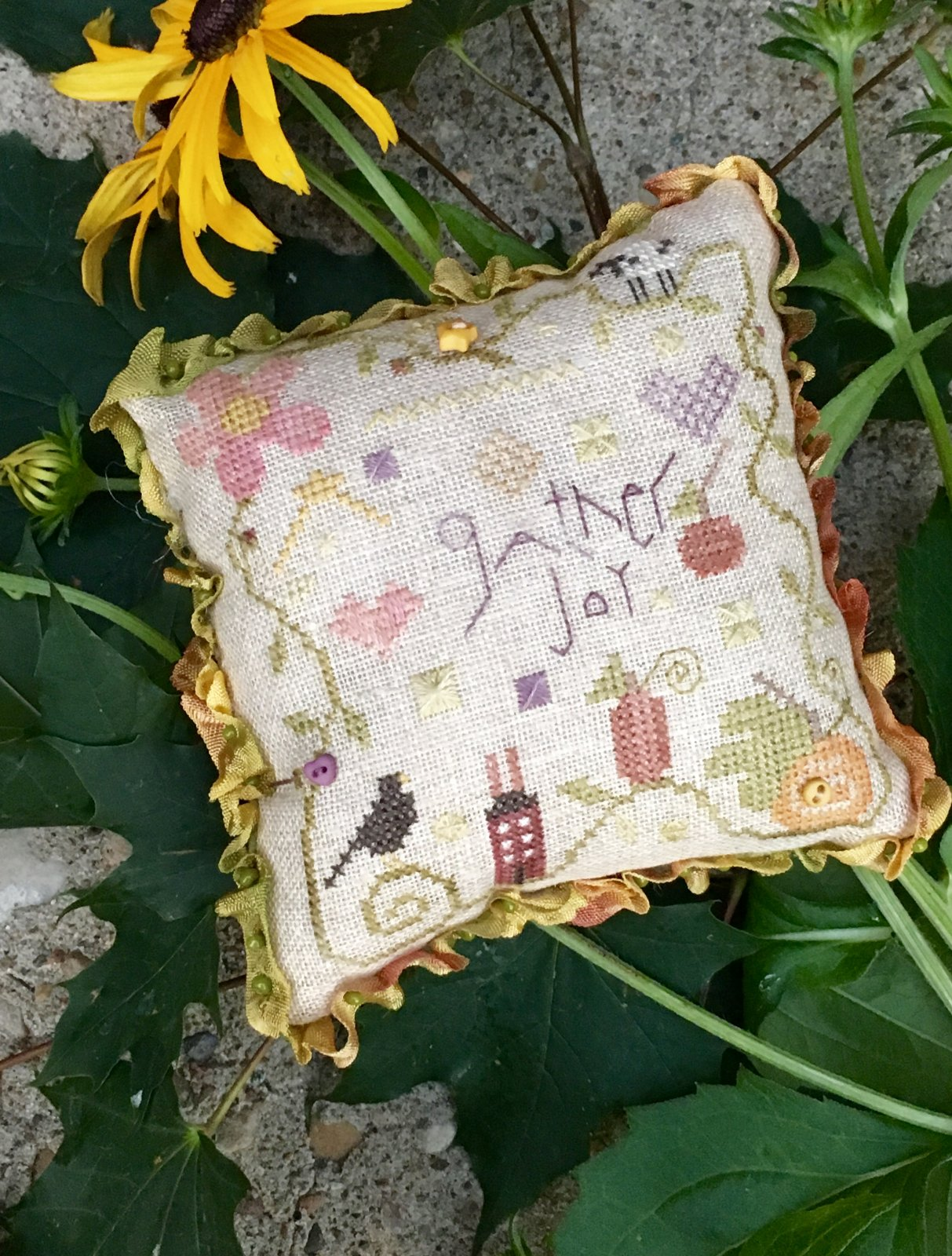 Gather Joy Pincushion