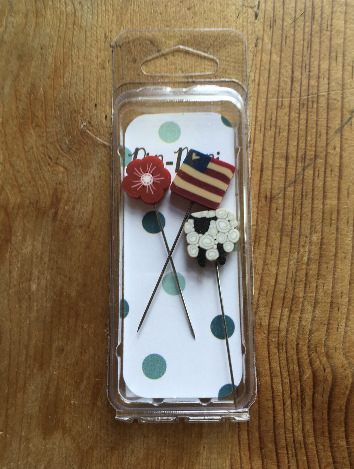 From Sea to Sea Pin set