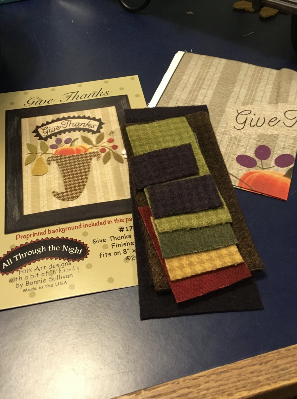 Give Thanks Wool kit