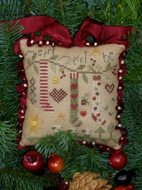 Merry Be Pincushion Kit