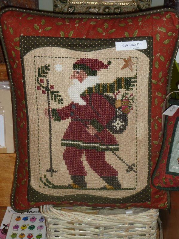 Prairie Schooler Santa 2010