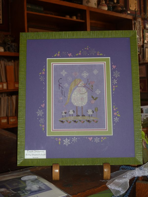 Purple Snowman Kit