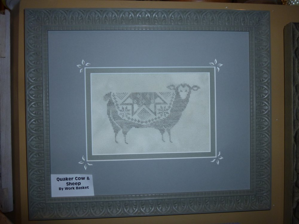 Quaker Cow and Sheep