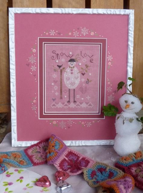 Pink Snowman Kit