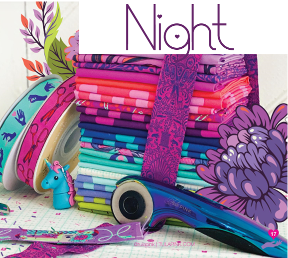 Tula Pink HomeMade - Night Fat Quarter Bundle
