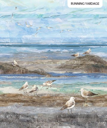 Swept Away Gulls Running Yardage