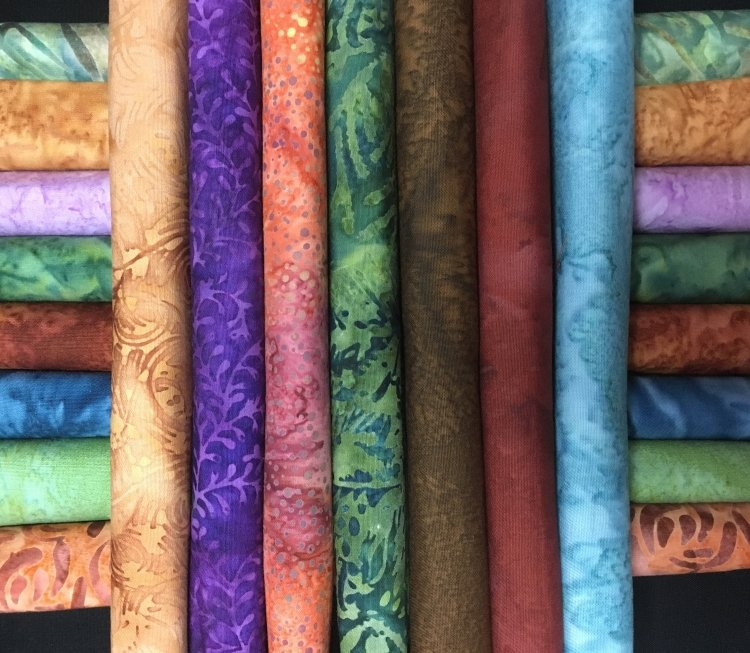 Sedona Colors Fat Quarters
