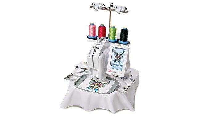 Babylock Alliance Single Needle Embroidery Machine