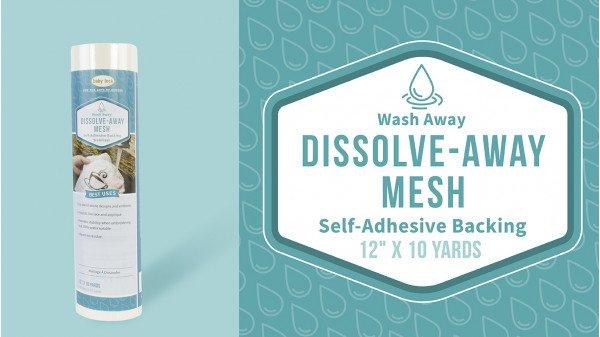 BBL Dissolve-Away Mesh Adhesive Stab. 12x10yd