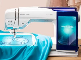 HV Designer Epic Sewing & Embroidery Machine