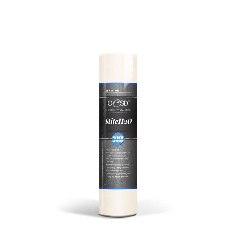 OESD Stitch H2O 8x10yds  Wash Away Stabilizer