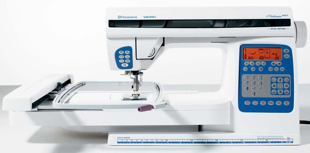 HV Platinum 955E Sewing & Embroidery Machine