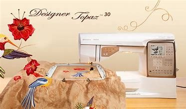 HV Designer Topaz 30 Sewing & Embroidery Machine
