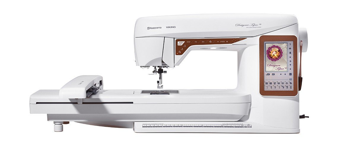 HV Topaz 40 Sewing & Embroidery Machine