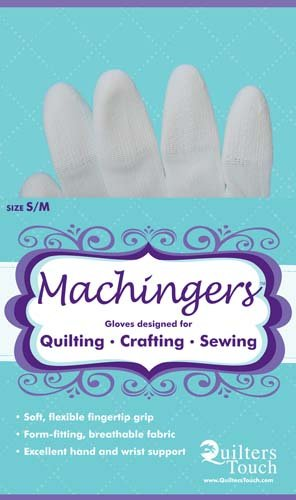 Machingers Gloves designed for Quilting etc S/M size
