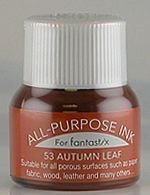 All Purpose Ink 1/2 oz bottle Tsukineko Autumn Leaf # 53