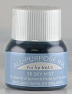 All Purpose Ink 1/2 oz bottle Tsukineko Sky Mist # 58