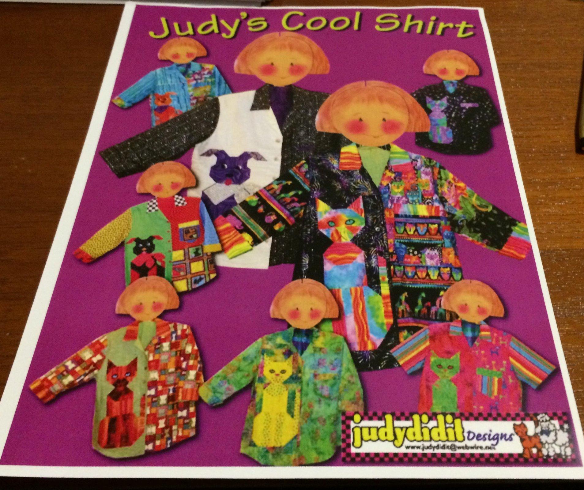 Judy's Cool Shirt by Judydidit Designs