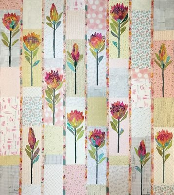 Protea Quilt Pattern by Laura Heine