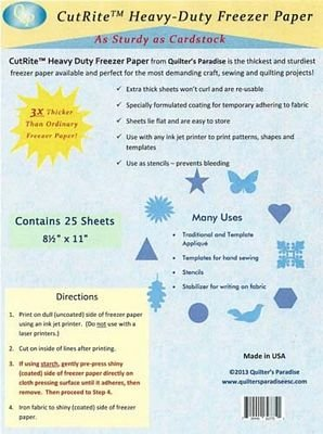 Freezer paper CutRite Heavy-Duty weight