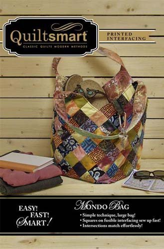 Mondo Bag Pattern by Quiltsmart * in stock*
